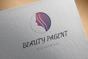 Beauty Pageant Logo Template