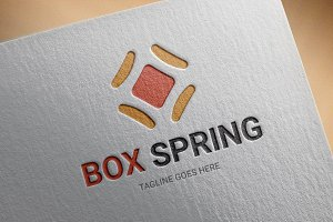 Box-Spring Logo Template