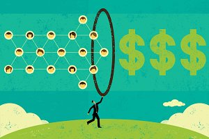 Monetizing Social Networks