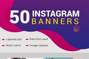 50 Instagram Banners