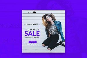 Shop Now Summer Sale Banner