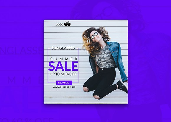 Shop Now Summer Sale Banner