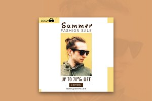 Summer Fashion Sale Banner