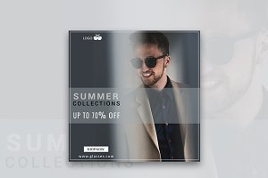 70% Off Summer Collections Banner