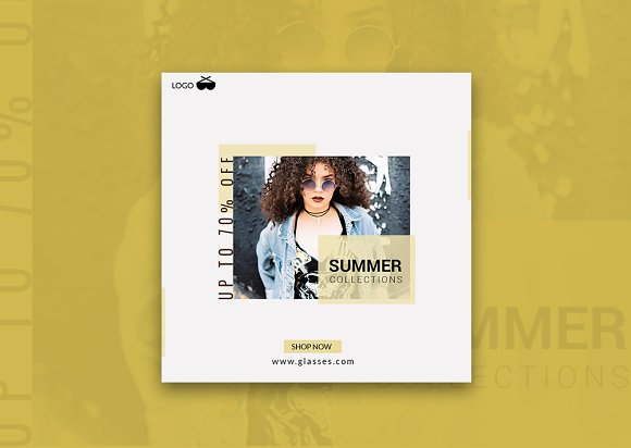 Summer Sale Off Instagram Banner