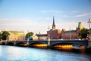 Stockholm: the capital of Sweden