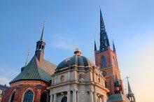 The Riddarholm church, Stockholm
