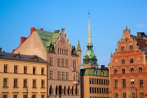 Old town architecture, Stockholm