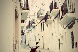 Old city architecture, Ibiza