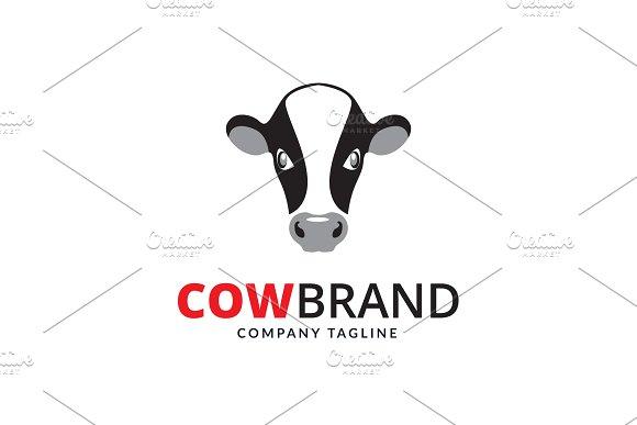 Cow Brand Logo Logo Templates Creative Market