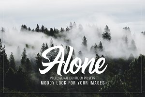 ALONE moody Lightroom presets pack