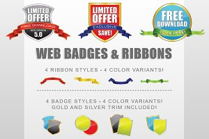 Badge Ribbon Creator Kit