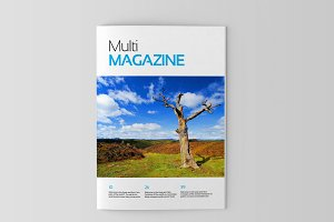 Magazine/Editorial Template 04