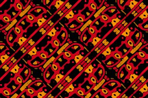 Ethnic Geometric Bold Seamless Pattern