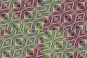 Ethnic Grunge Seamless Pattern