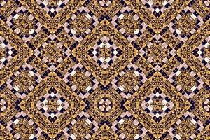 Grunge Mosaic Check Seamless Pattern