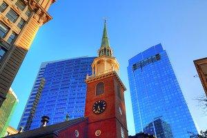 Boston downtown historic buildings