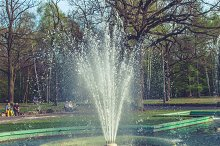 Fountain in the park 2