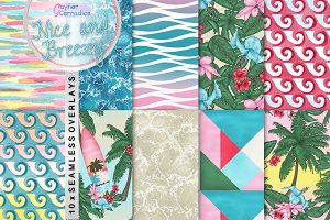Nice and Breezy Pattern collection