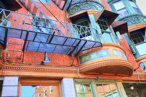 Scenic Boston North End Streets
