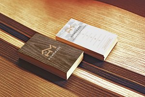 Wooden Business Card 4