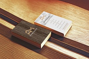 Wooden Business Card 5