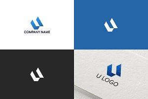 Letter U logo design | Free UPDATE