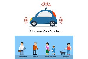 Autonomous Car is Good For different people