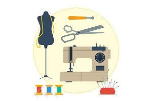 Round concept tailoring equipment