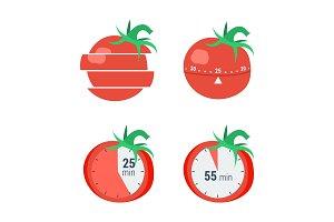 Pomodoro timer concept