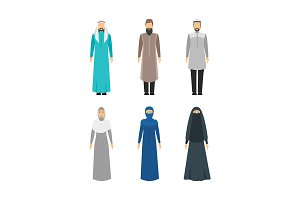 Middle East Religious Apparel Set