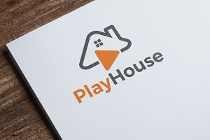 Play House Logo Template
