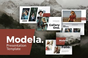 Modela Keynote Template