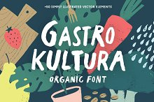 Gastro Kultura Font + Bonus