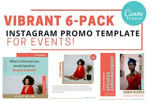 CANVA Instagram EventPromo Template