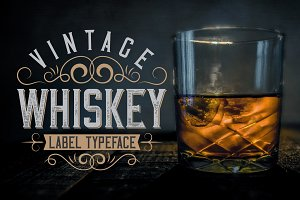 Vintage Whiskey Typeface
