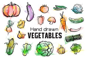 Vegetables Watercolor