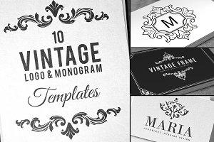 Vintage Logo & Monogram Templates