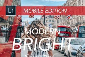 BRIGHT MOBILE | Blogger Presets