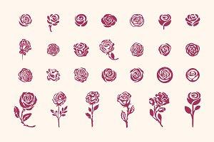 27 Rose symbols icon