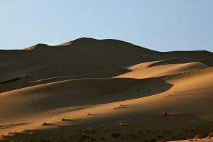 Magnificent sand dunes