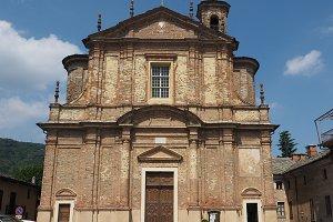 San Genesio church in Corio Canavese