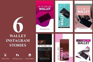 6 Shop for Wallet Instagram Stories