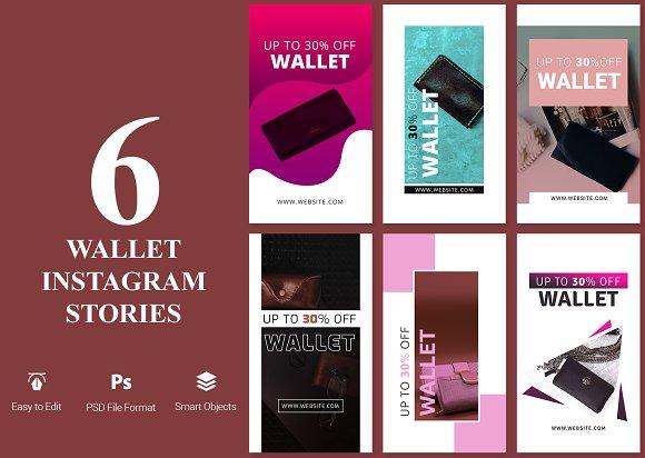 Wallet Instagram Stories