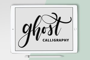 Procreate Brush - Ghost Calligraphy