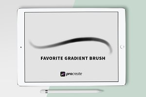Procreate Brush - Gradient Brush