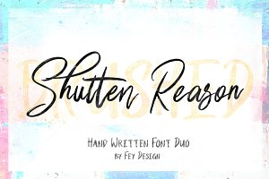 Shutten Reason - Duo Handwritting