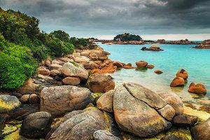 Amazing Atlantic Ocean coastline