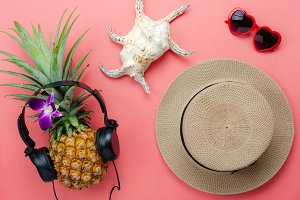 Top view accessories for summer