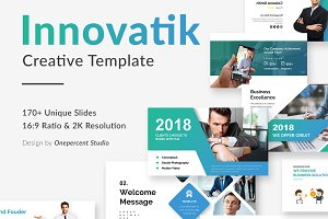 Innovatik Pitch Deck Powerpoint